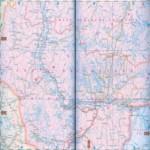 Карта автодорог Ямало-Ненецкого автономного округа