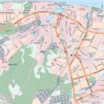 Карта автодорог города Чебоксары
