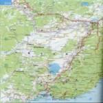 Карта автодорог Еврейской автономной области