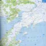 Карта автодорог Камчатского края