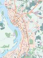 Карта автодорог города Хабаровска