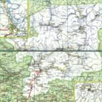Карта автодорог Республики Коми