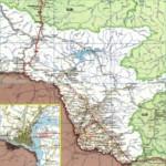 Карта автодорог Амурской области