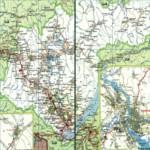 Карта автодорог Иркутской области