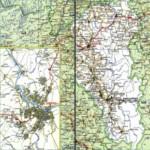 Карта автодорог Кемеровской области