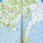 Карта автодорог Магаданской области
