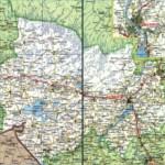 Карта автодорог Новосибирской области