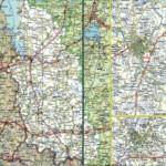 Карта автодорог Псковской области