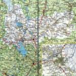 Карта автодорог Вологодской области