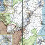 Карта автодорог Хабаровского края