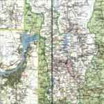 Карта автодорог Пермского края