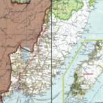Карта автодорог Приморского края