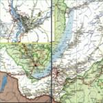 Карта автодорог Республики Бурятия