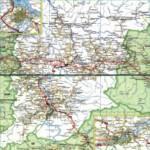 Карта автодорог Республики Хакасии