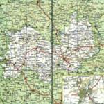 Карта автодорог Республики Мордовия
