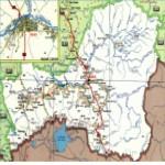 Карта автодорог Республики Тыва