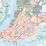 Карта автодорог города Самара