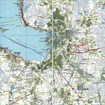 Карта автодорог города Санкт-Петербург