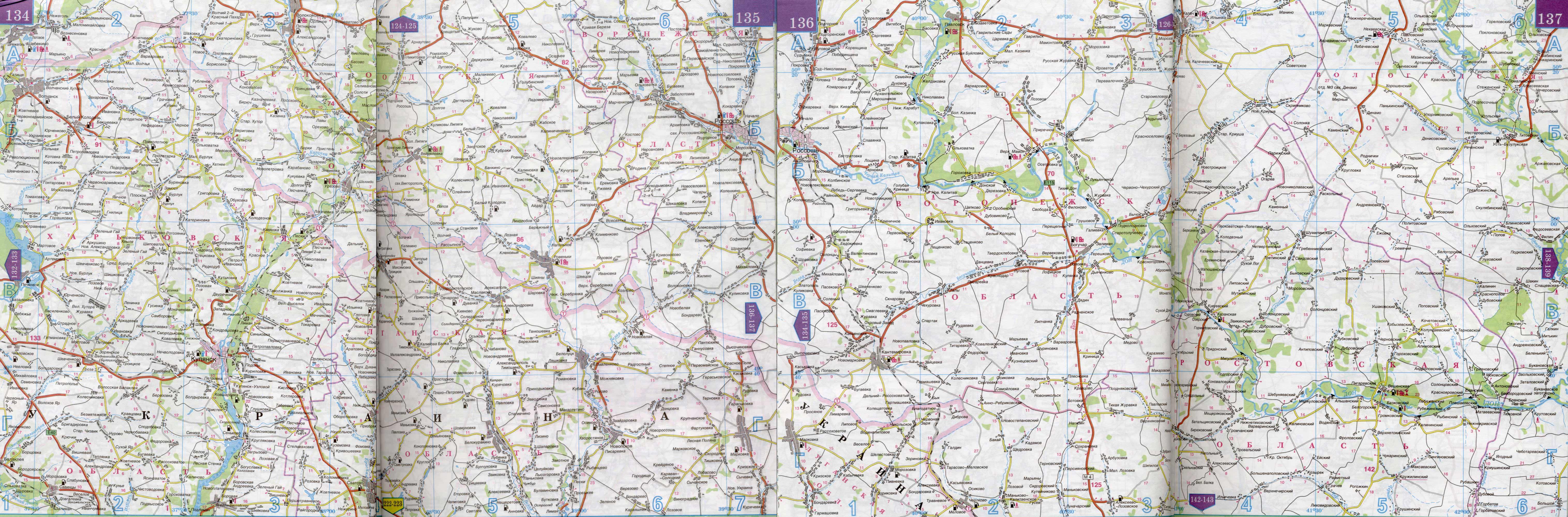 Карта автодорог Воронежской области | #161 | Воронежская ...: http://russia.at.ua/blog/karta_dorog_voronezhskoj_oblasti/2009-10-05-161