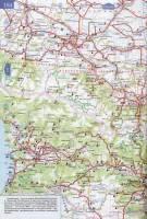 Карта автодорог Республики Чечня