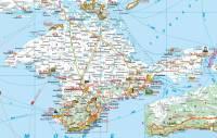 Карта автодорог Республики Крым