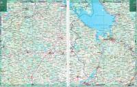 Карта автодорог Ярославской области